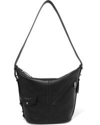 Marc Jacobs Sling Leather Shoulder Bag Black