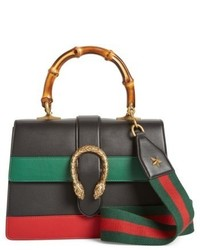Gucci Small Dionysus Top Handle Leather Shoulder Bag