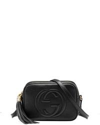 Gucci Soho Leather Disco Bag Black