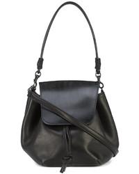 Y's Thick Flap Pochette Bag