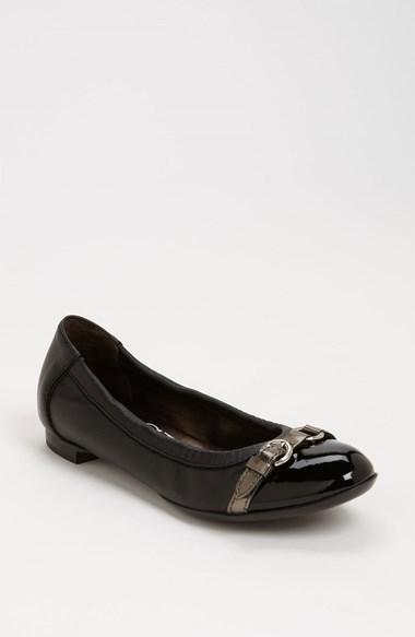 7e369c7e804cd AGL Cap Toe Ballerina Flat, $298 | Nordstrom | Lookastic.com