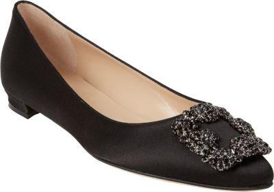 dbb57e9a467b authentic shoes manolo blahnik hangisi flats 1364b ede8d