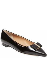 Salvatore Ferragamo Leather Ballet Flat