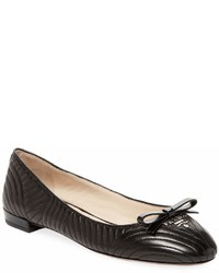 Prada Quilted Leather Ballet Flat