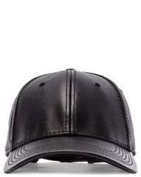Gents Co Luxe Leather Cap