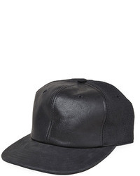 Rick Owens D Rk Sh D W By Leather Top Hat