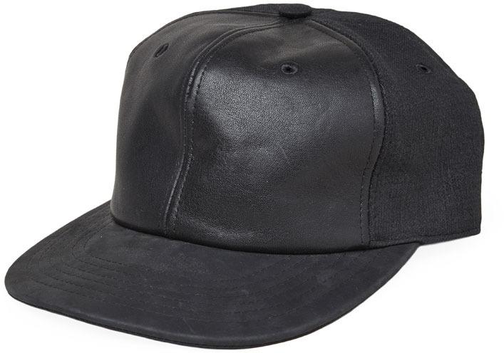 ... Rick Owens D Rk Sh D W By Leather Top Hat ... 3c8e01118574