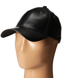 Marc by Marc Jacobs Leather Cap Caps