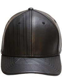 Gents Leather Embossed Cap