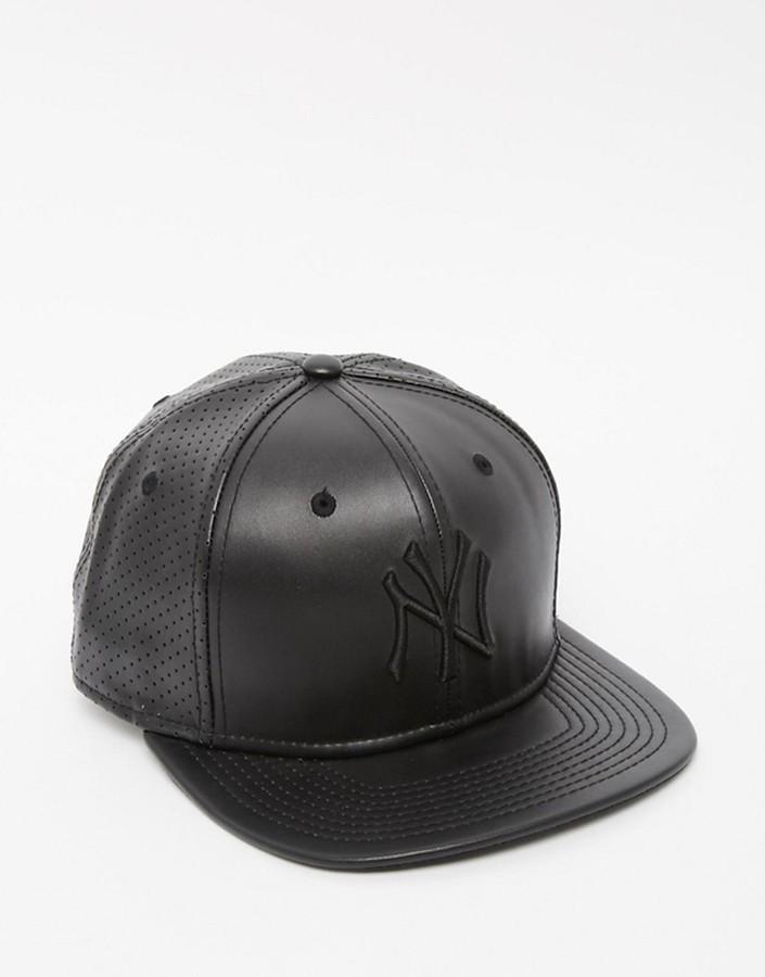 c103cb998968f9 ... best caps new era new era 9fifty ny yankees faux leather snapback cap  d43aa d3c84