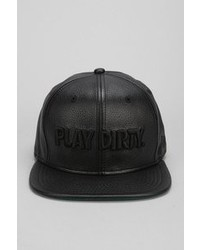 Urban Outfitters Undefeated Play Dirty Faux Leather Snapback Hat