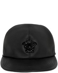 Versace Medusa Leather Baseball Hat