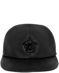 Versace Medusa Leather Baseball Hat