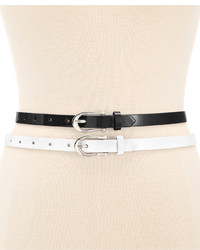 INC International Concepts 2 For 1 Patent Belts Created For Macys