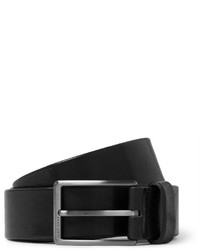 Hugo Boss 35cm Black Sammy Leather Belt