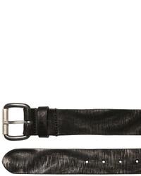 Diesel 39mm Laser Cut Leather Belt