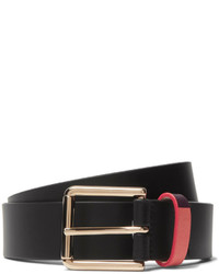 Paul Smith 3cm Black Leather Belt