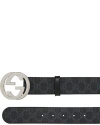 6837a579255 ... Gucci 40mm Gg Supreme Leather Belt