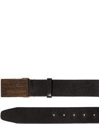 DSQUARED2 40mm Leather Belt W Logo Buckle