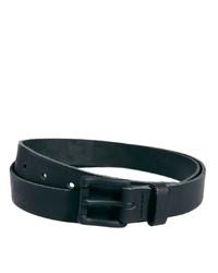 Asos Black Buckle Leather Belt