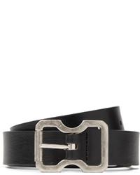 Maison Martin Margiela Black 25cm Leather Belt