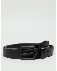 Jack & Jones Black Leather Belt