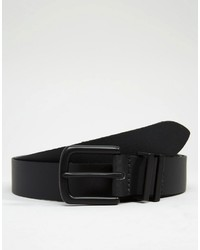 Asos Brand Smart Leather Belt With Keeper