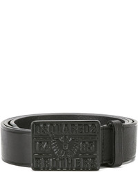 DSQUARED2 Buckle Plaque Belt