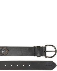 Diesel Vintage Effect Western Leather Belt