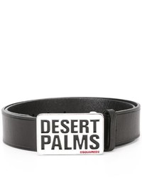 DSQUARED2 Desert Palms Buckle Belt