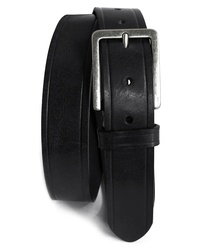Boconi Embossed Leather Belt