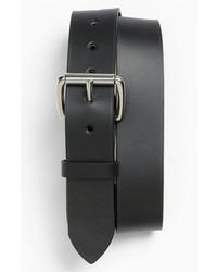 Filson Leather Belt Black 36