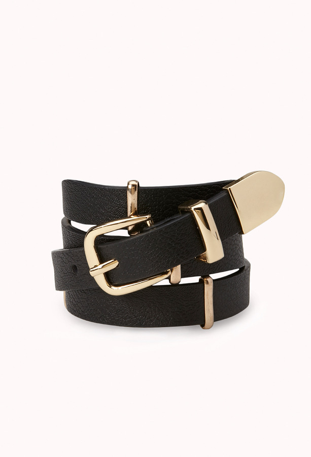 forever 21 luxe faux leather hip belt where to buy how