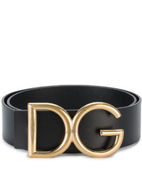 Dolce & Gabbana Gold Initials Belt