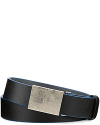 Robert Graham Gravity Leather Belt Blackblue