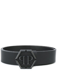Philipp Plein Hexagon Buckle Belt
