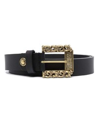 VERSACE JEANS COUTURE Leather Buckle Belt