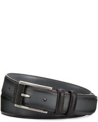 Robert Graham Martin Leather Belt Black