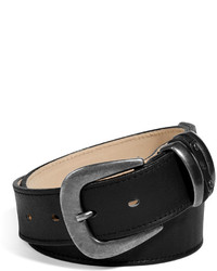 McQ by Alexander McQueen Mcq Alexander Mcqueen Leather Belt In Black