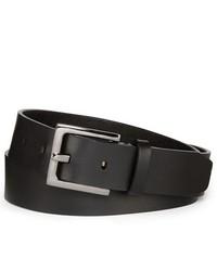 MIXIT Hematite Buckle Leather Belt