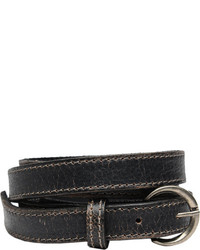 Bed Stu Mon Black Lux Leather Belts