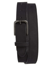 Canali Nubuck Leather Belt