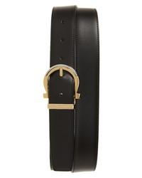 Salvatore Ferragamo Paloma Gancio Reversible Leather Belt