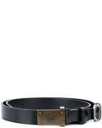 Dolce & Gabbana Plate Buckle Belt