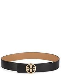 Tory Burch Reversible Logo Leather Belt