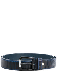 Armani Jeans Ribbed Belt