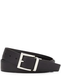 Prada Saffianosmooth Leather Reversible Belt
