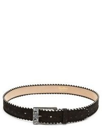 Max Mara Sevres Stitch Leather Belt