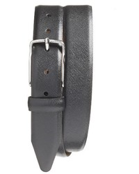 Nordstrom Shop Evans Saffiano Leather Belt