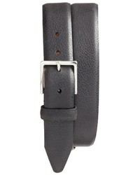 Nordstrom Shop Midland Pebbled Leather Belt